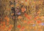 Robert William Vonnoh Poppies oil painting artist