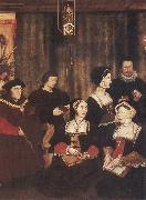 Rowland Lockey Sir Thomas More and his family oil painting picture wholesale
