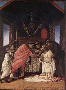 Sandro Botticelli Last Communion of St.Jerome oil painting picture wholesale