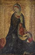 Simone Martini The Madonna From the Annunciation oil painting artist