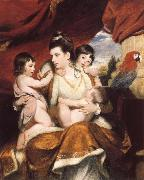 Sir Joshua Reynolds Lady Cockburn and Her Three eldest sons oil painting picture wholesale