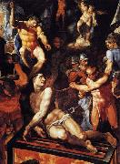 TIBALDI, Pellegrino Martyrdom of St Lawrence oil painting picture wholesale
