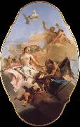 TIEPOLO, Giovanni Domenico An Allegory with Venus and Time oil painting picture wholesale