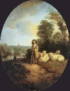 Thomas Gainsborough The Shepherd Boy oil painting picture wholesale