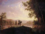 Thomas Mickell Burnham The Lewis and Clark Expedition oil painting picture wholesale