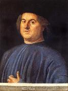 VIVARINI, Alvise Portrait of A Man oil painting artist