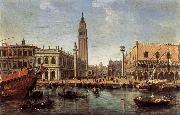 WITTEL, Caspar Andriaans van The Piazzetta from the Bacino di San Marco oil painting picture wholesale