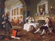 William Hogarth Marriage a la Mode ii The Tete a Tete oil painting picture wholesale