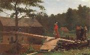 Winslow Homer Die Morgenglocke oil painting picture wholesale