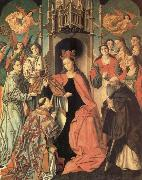 unknow artist San Ildefonso receiving the chasuble oil painting picture wholesale