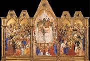 unknow artist The Coronation of the Virgin oil painting picture wholesale