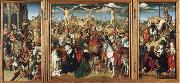 unknow artist The Crucifixion,Christ Led from the Praetorium,the Descent from the Cross oil painting picture wholesale