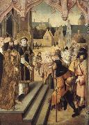 unknow artist Saint Lawrence Showing the Prefect Decius the Treasures of the Church oil painting picture wholesale
