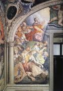Agnolo Bronzino Mose strikes water out of the rock fresco in the chapel of the Eleonora of Toledo oil painting picture wholesale