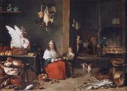 David Teniers cake-interior oil painting picture wholesale