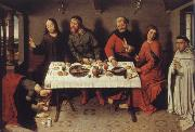 Dieric Bouts Museem national Christ in the house the Pharisaers Simon oil painting picture wholesale