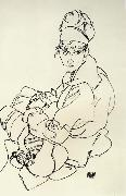 Egon Schiele Seated Woman oil painting picture wholesale