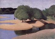 Felix Vallotton Sandbanks on the Lore oil painting picture wholesale