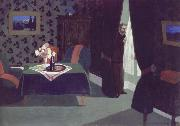 Felix Vallotton Waiting oil painting reproduction