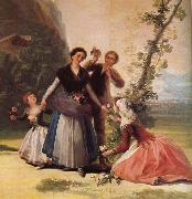 Francisco de Goya Blomsterforsaljerskan,omkring oil painting picture wholesale