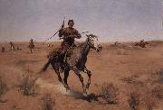 Frederic Remington The Flight oil painting picture wholesale