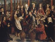 Gerard David The wedding to canons oil painting picture wholesale