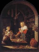 Gerrit Dou The Kramerladen oil painting picture wholesale