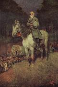 Howard Pyle General lee on his Famous appointment oil painting picture wholesale