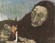 John Bauer Trollgumma and kungabarn oil painting picture wholesale