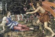 John Roddam Spencer Stanhope Love and the Maiden oil painting picture wholesale