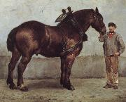Otto Bache The working horse oil
