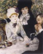 Pierre-Auguste Renoir At the end of the Fruhstucks oil painting picture wholesale
