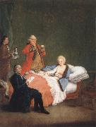 Pietro Longhi The Morgenschokolode oil painting picture wholesale