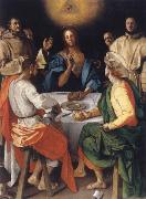 Pontormo The Mabl in Emmaus oil painting picture wholesale