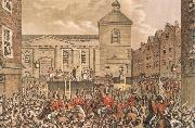 Thomas Pakenham Thomas Street,Dubli the Scene of Rober Emmet-s execution in 1803 oil painting picture wholesale