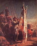 Thomas Waterman Wood The Return of the Flags 1865 oil painting artist