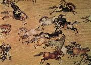 unknow artist Emperor Qianlong on the trip oil painting picture wholesale