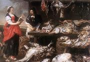 Adriaen Van Utrecht Fishmonger's Stall oil painting picture wholesale