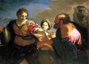 Carlo Maratti Rebecca and Eliezer at the Well oil painting picture wholesale