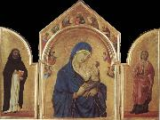 Duccio Virgin and Child oil painting artist