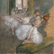 Edgar Degas The Ballet class oil painting picture wholesale