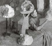 Edgar Degas The Millinery Shop oil painting picture wholesale