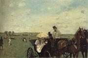 Edgar Degas At the Races in the Countryside oil painting picture wholesale