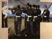 Edouard Manet The Execution of  Maximillian oil painting picture wholesale