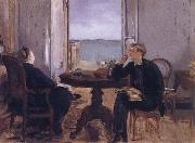 Edouard Manet Manet-s Family at home in Arachon oil painting picture wholesale
