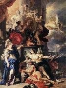 Francesco Solimena Allegory of Reign oil painting picture wholesale