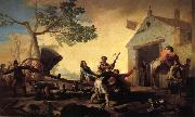 Francisco Goya Fight at the New Inn oil painting picture wholesale