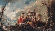 GUARDI, Gianantonio The Healing of Tobias's Father oil painting picture wholesale