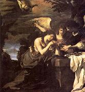 GUERCINO Magdalen and Two Angels oil painting picture wholesale