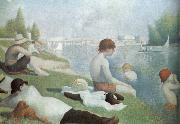 Georges Seurat Bath oil painting reproduction